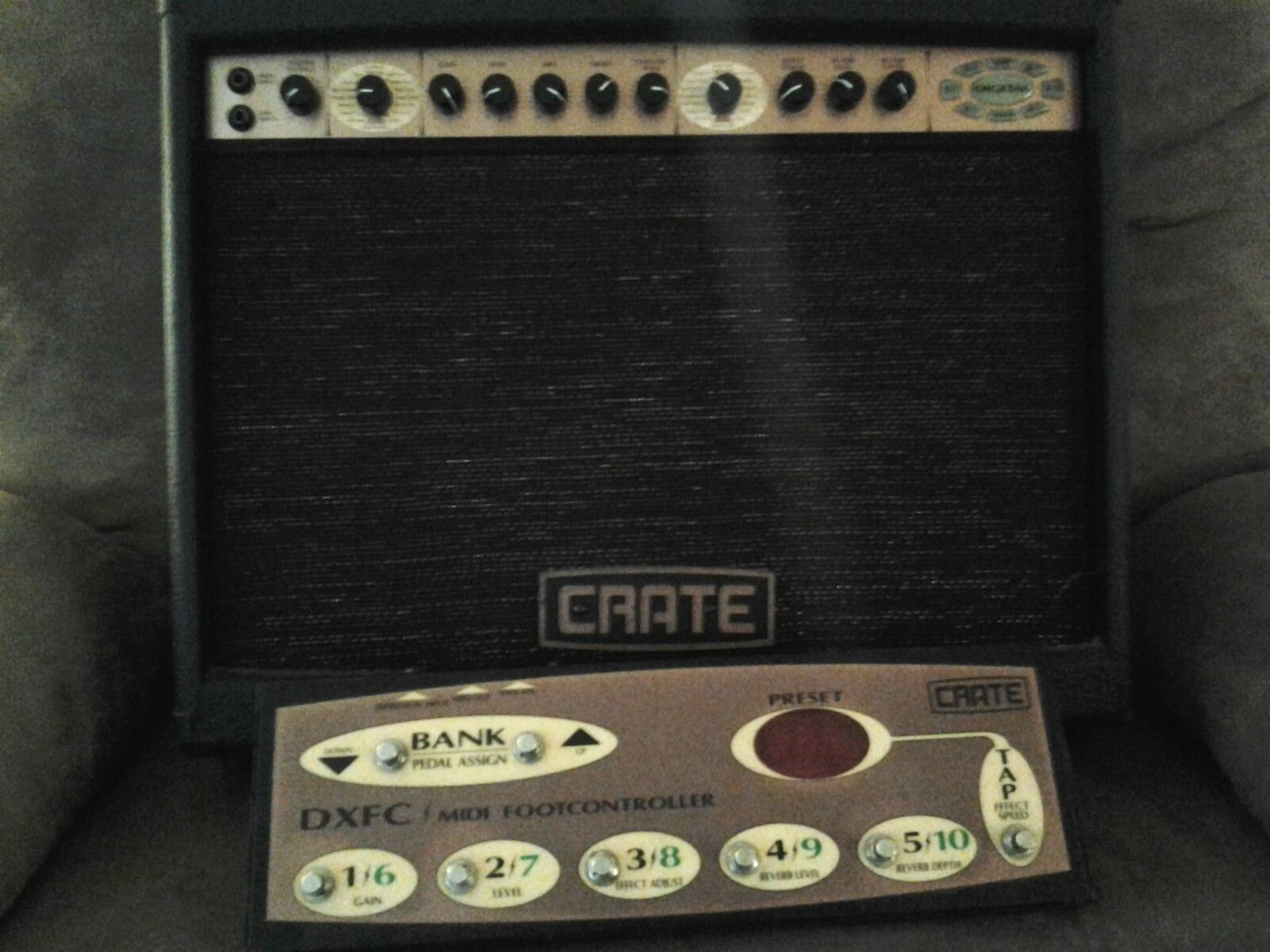 REDUCED TO SELL !....Crate DXJ-60 Modeling Amp + Foot Pedal