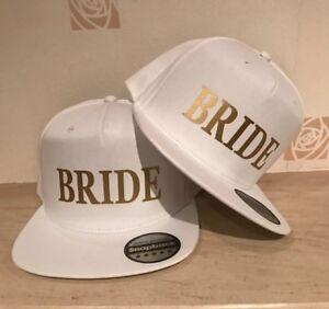 4c07bcdf308 BRIDE BRIDE Snapback Pair Fashion PRINTED Caps Hip-Hop Hats Wedding ...