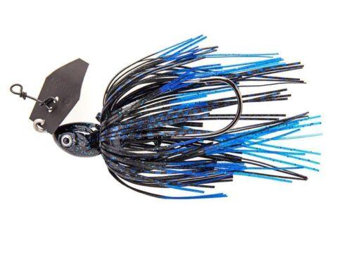 Z-Man Chatterbait 10cm 10,5g 3//8 oz Dark Blue Sexier UV Braking Bream Black Shad