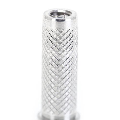 50X Aluminium Insert Fit Iner Diatmeter 6.2mm Carbon Arrows Shaft For Hunting WR