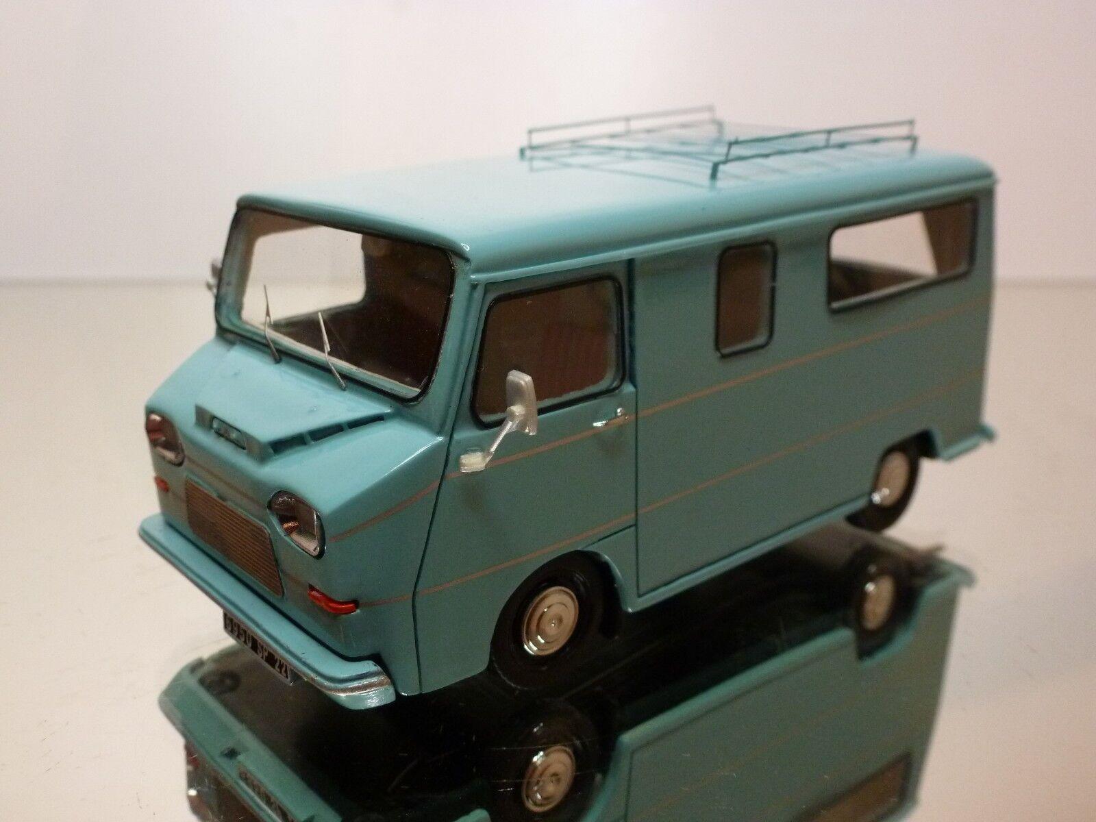 LUTIL 102 CITROEN HY HEULIEZ CAMPING CAR 1970 - blueE 1 43 RARE - EXCELLENT- 39