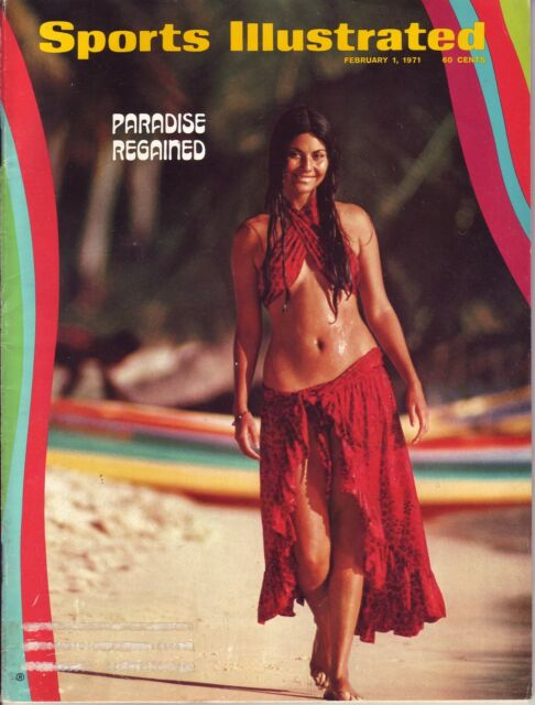 Sports Illustrated 1971 Swimsuit Tannia Rubiano DR NoLb