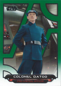2018-Topps-Star-Wars-Galactic-Files-Green-Parallel-TFA-45-Colonel-Datoo-111-199