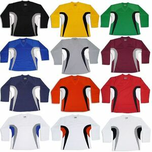 c9111815be2 Tron DJ200 Dry Fit Practice Hockey Jersey Adult   JR EDGE INSPIRED ...