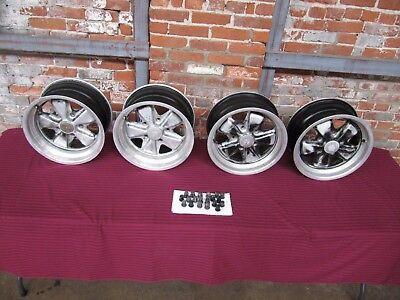 Original Porsche Fuchs Wheels 15 x 7 and 15 x 8 Staggered 911 361 020 41