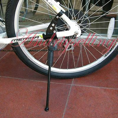 MTB Road Bike Mountain Bicycle Replacement Side Kick Stand Alloy Kickstand Black