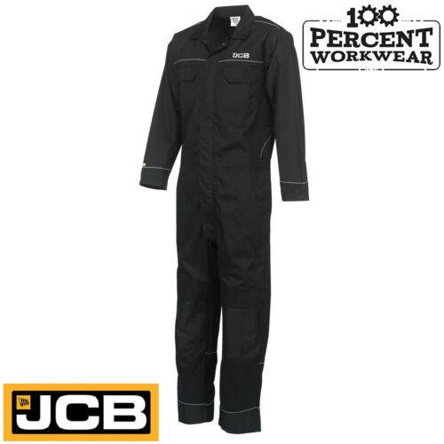 Pro Heavy Duty JCB Mens Work Overalls Coveralls Boiler Suit Boilersuit Mechanics