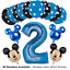 Disney-Mickey-Minnie-Mouse-Birthday-Foil-Latex-Balloons-Blue-Pink-Number-Sets thumbnail 14