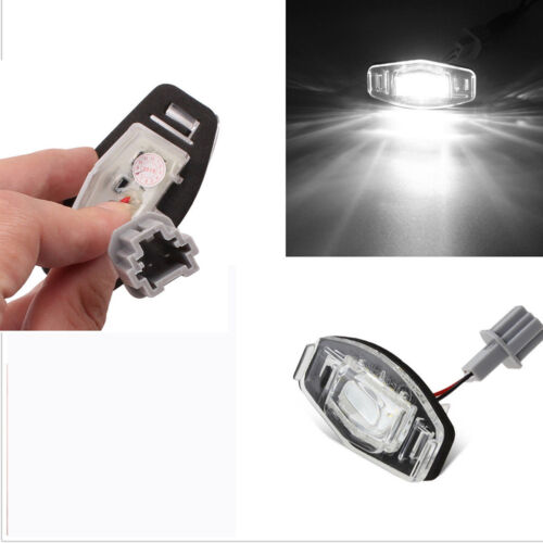 compatible for Honda Accord Civic /& Acura 2pcs License Plate Lights Nice