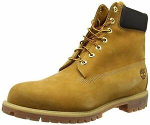 Timberland-Mens-6-inch-Waterproof-Boot-Wheat-Nubuck-8-W-US-Damaged-Box