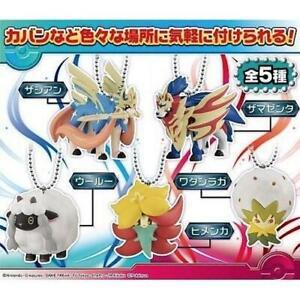 Pokemon-Sword-And-Shield-Takara-Tomy-Ball-Chain-Mascot-Collection-Key-Chain