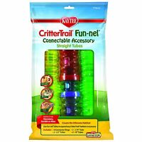 Kaytee Crittertrail Fun-nels Tubes Accessoris Value Pack , New, Free Shipping on sale