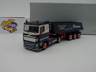 "Herpa Volvo FH`13 Kipp-Sattelzug /""Frank Wulf 932714-1:87 Hamburg/"""