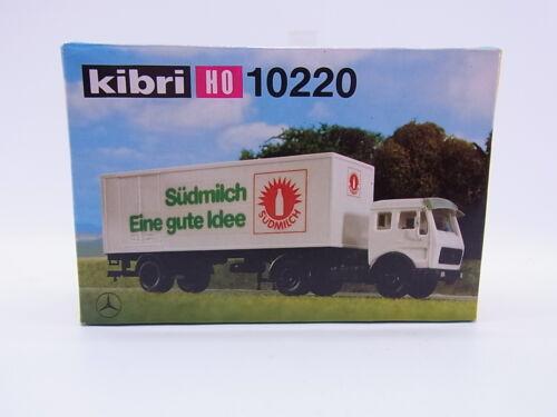 LOT 23771Kibri HO 10220 MB Koffersattelzug Südmilch 1:87 Bausatz NEU in OVP