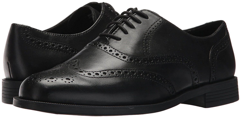 basta comprarlo New COLE HAAN Dustin Wing tip Leather Uomo scarpe Dimensione Dimensione Dimensione 8.5 (M)  240.00 in nero  a buon mercato