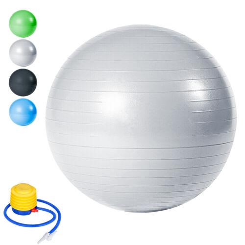 Gymnastikball bis 300kg 65 75 cm Rücken inkl Pumpe Krankengymnastik