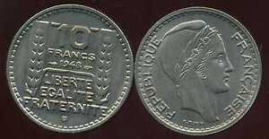 10 Francs Turin 1948 B Petite Tete Spl ( Bis ) Ddw3g4nd-08000645-299389964