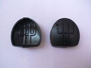 Pour Renault Clio Megane Scenic Laguna Kangoo gear knob Badge 5 vitesses noir