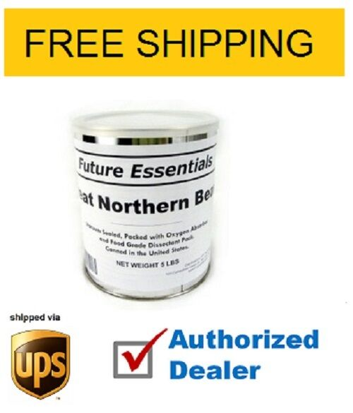 Future Essentials ,Great Northern Beans, Full Case,FREE SHIPPING