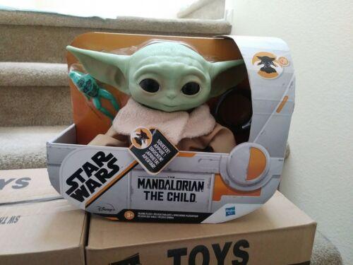 Star Wars Mandalorian The Child  Baby Yoda Electronic Talking Plush IN HAND New
