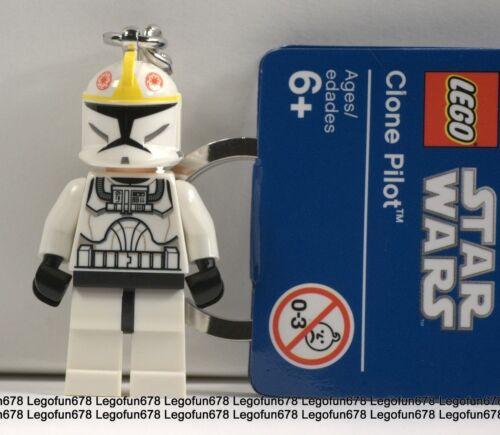 LEGO NEW Star Wars Clone Pilot Minifigure Key chain With Tag