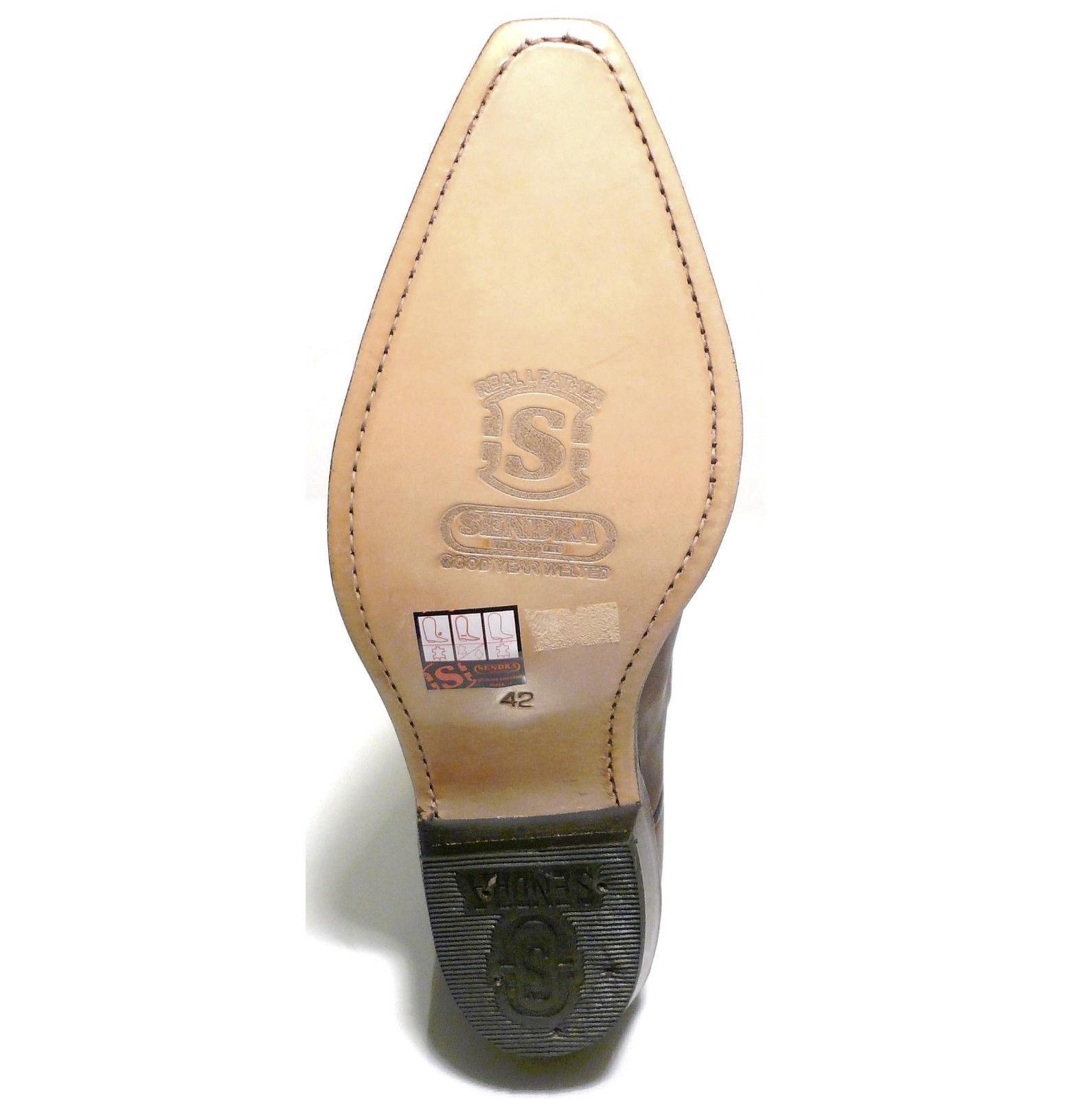 Sendra Boot Cowboystiefel Westernstiefel 2605 2605 Westernstiefel Braun 1d77a4