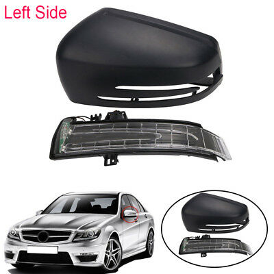 2X Wing Mirror Cover Rearview For Mercedes-Benz C E S Class W212 W204 W221 09-13