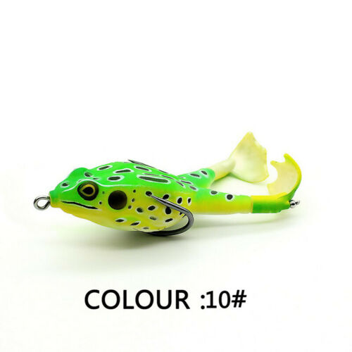 Rotating Legs Thunder Frog Fishing Lure Floating Bionic Soft Lure Carp FishiBE