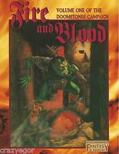 Warhammer Fantasy RPG Doomstones Vol 1 Fire and Blood *FS
