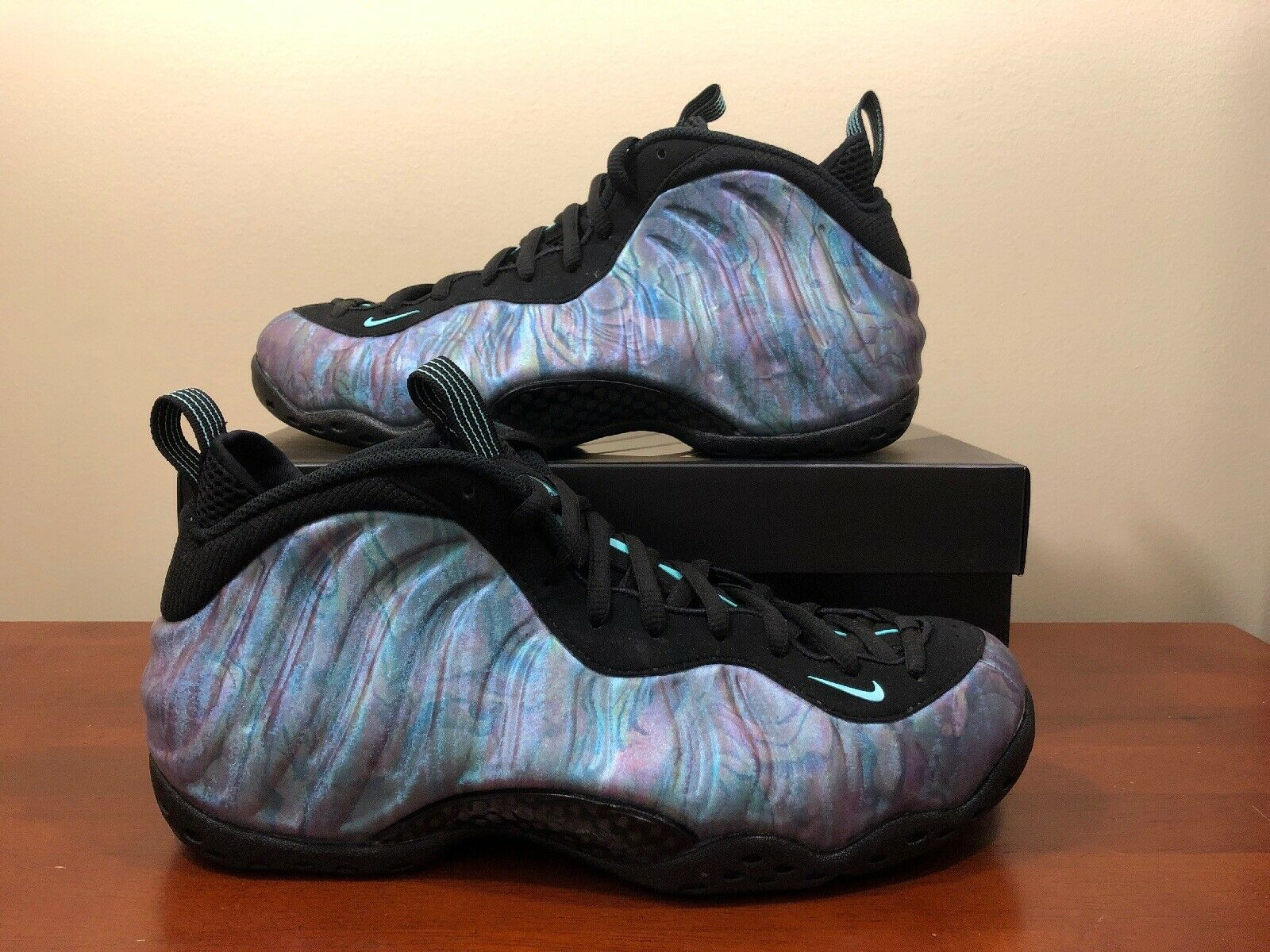 Nike Air Foamposite One Abalone 575420 009 Men S Size 15 Prm