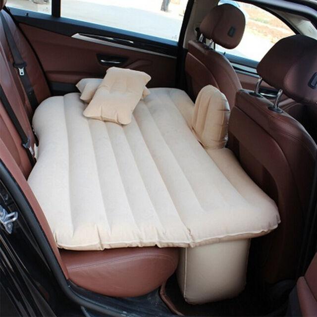 Self-drive Air Mattress Camping Bed Car Back Seat Rest Inflatable Mattress BP