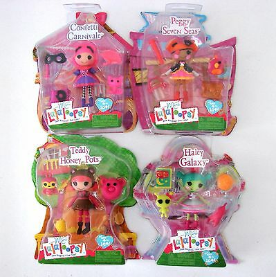 Mini Lalaloopsy Series 12 Dolls Confetti Carnivale Haley Galaxy Peggy Pirate MGA