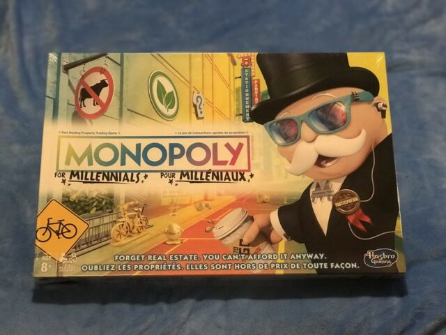 NEW Limited Edition Monopoly for Millennials Board Game