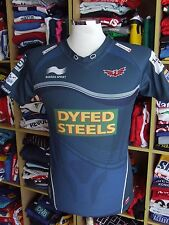 Rugby Trikot Scarlets 2013/14 (S) Auswärts Burrda Away Maillot Jersey Shirt