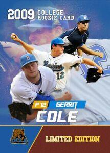 5-GERRIT-COLE-2009-ROOKIE-GEMS-FIRST-COLLEGE-UCLA-BRUINS-ROOKIE-CARD-YANKEES
