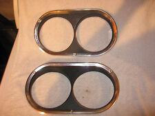 NOS Mopar 1960-62 Plymouth Valiant Head Light Bezels