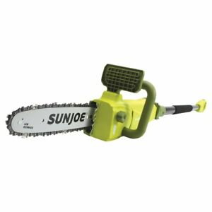 Sun-Joe-Electric-Convertible-Pole-Chain-Saw-10-034-8-0-Amp-2-Year-Warranty