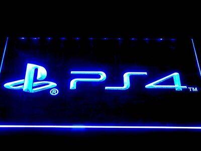 Playstation 4 PS4 LED neon Neonzeichen Leuchtschild Schaufenster Lampe Leuchte