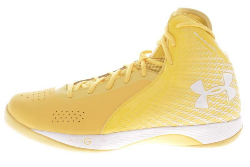Uomo Large Taglia Under Armour Clutchfit Yellow Athletic Scarpe 16 M..542A