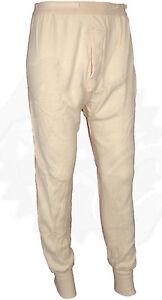 GI Wool Blend Thermal Underwear Wallace Beery Bottom Size SR | eBay