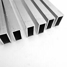 1 X 2 Od Aluminum Rectangle Tubing 125 Wall Thick 20 Long Qty 6 Sku137710