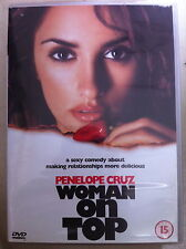 Penelope Cruz WOMAN ON TOP ~ 2000 Romantic Comedy   UK DVD