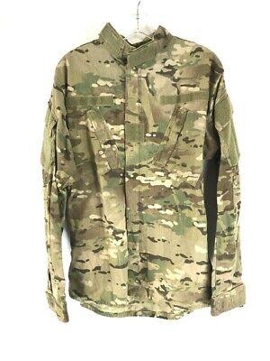 Multicam Jacket Army Combat Uniform Coat Insect Flame Resistant Medium Short