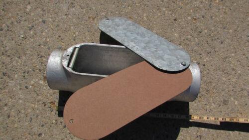 "Malleable Iron Details about  /Appleton Unilet 4/"" C Form 35 w//cover"