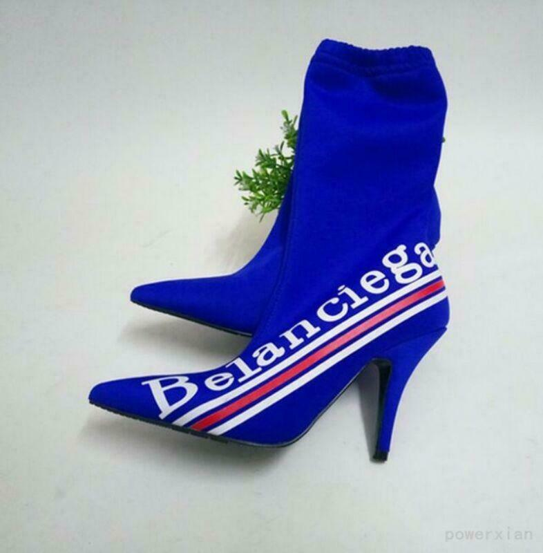 Womens Stilettos Pointy Toe Sexy Slim Fashion New Pull On High Heel Ankle Boots