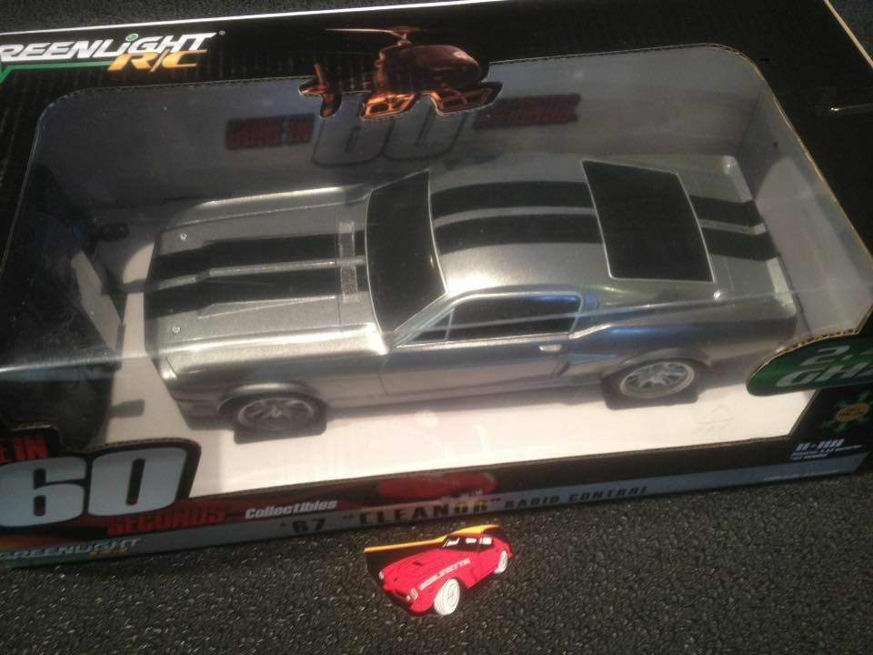 RC REMOTE CONTROL FORD MUSTANG GT500 1967 GONE IN SIXTY SECONDS ELEANOR 1/18