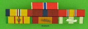 Marine-Corps-Combat-Action-Bronze-Star-Vietnam-War-Mounted-7-Ribbon-Bar-USMC