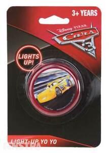 Disney-Cars-Yo-Yo-Kids-Boys-Girls-Toy-Lightning-McQueen-Yo-Yo-Lights-Up-Light-Up