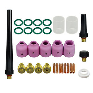 TIG Welding Gas Cup Kit CK Gas Saver Kits for CK-9//20 or WP-9 20 TIG Torches