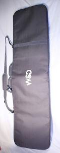 Snowboard bag fully padded big gray snowboard travel bag WSD New